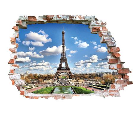 Samolepka 3D Tour Eiffel