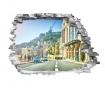 Samolepka 3D Monaco