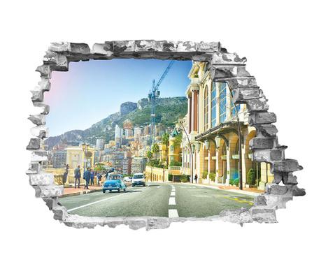 Αυτοκόλλητο 3D Monaco