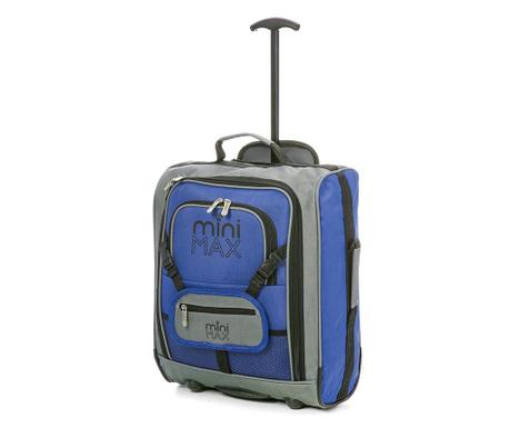 Dziecięca walizka na kółkach Karen Blue 30 L