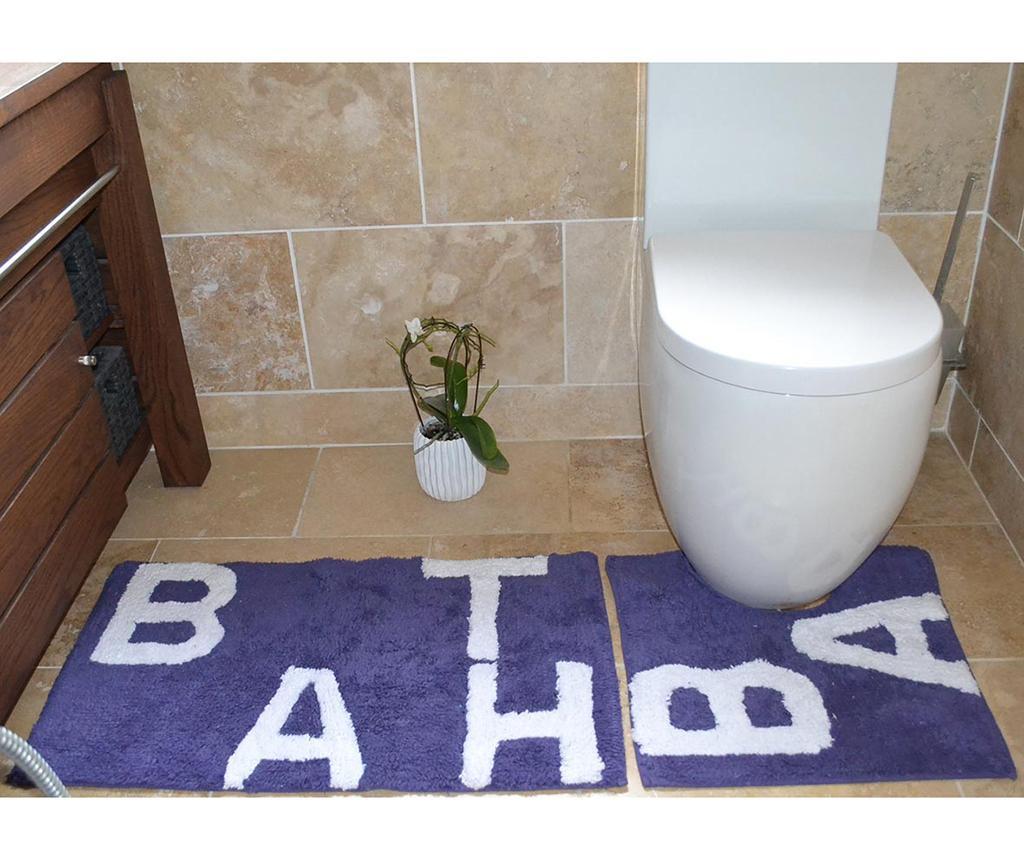 Set 2 kopalniških preprog Amelia Violet