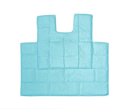 Set ručnik za noge i kupaonski tepih Quiana Aqua