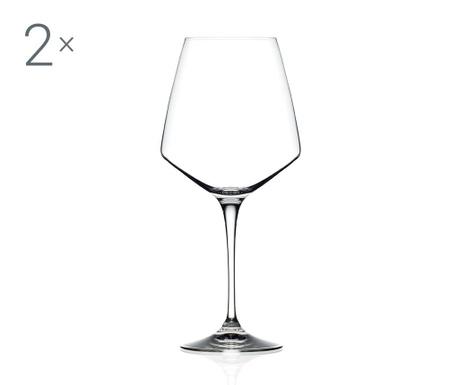 Zestaw 2 kieliszków do wina czerwonego Aria 790 ml