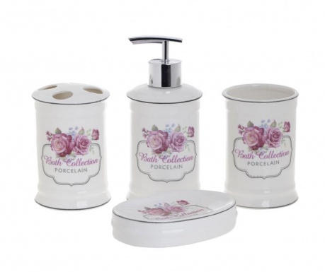Set de baie 4 piese Pink Blossom