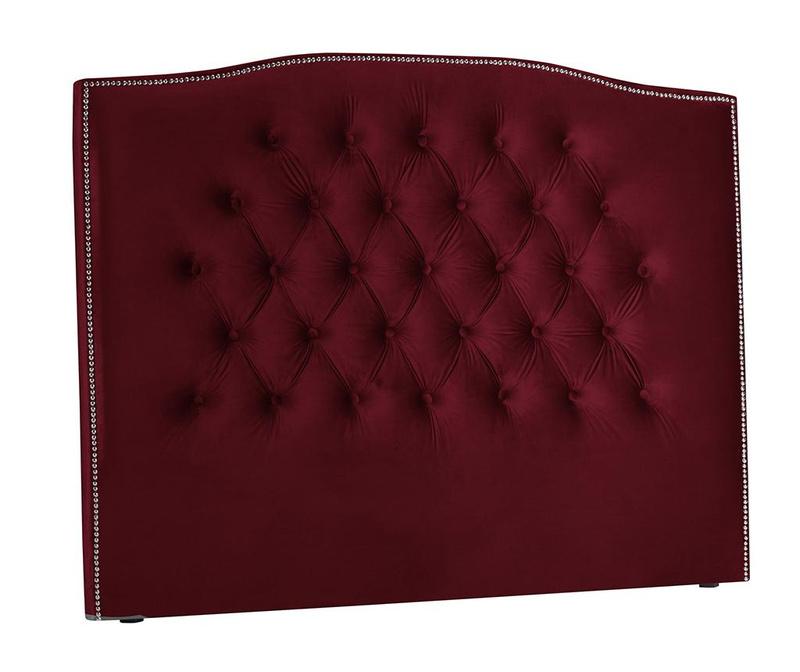Tablie de pat Cloves Red Wine 200 cm