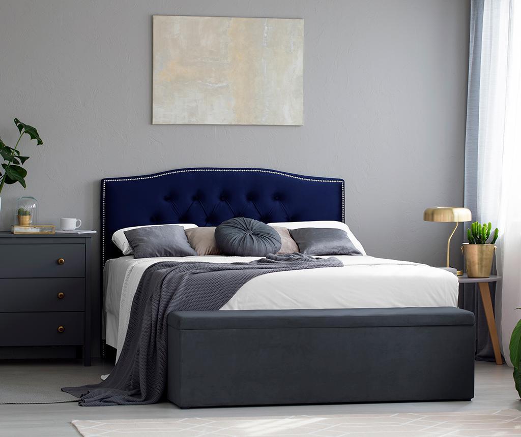 Tablie de pat Cloves Navy Blue 200 cm