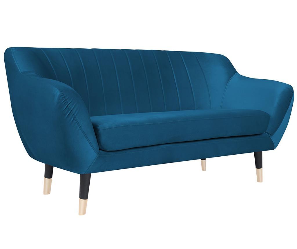 Benito Blue Black Kétszemélyes kanapé