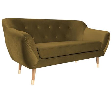 Amelie Gold Natural Kétszemélyes kanapé