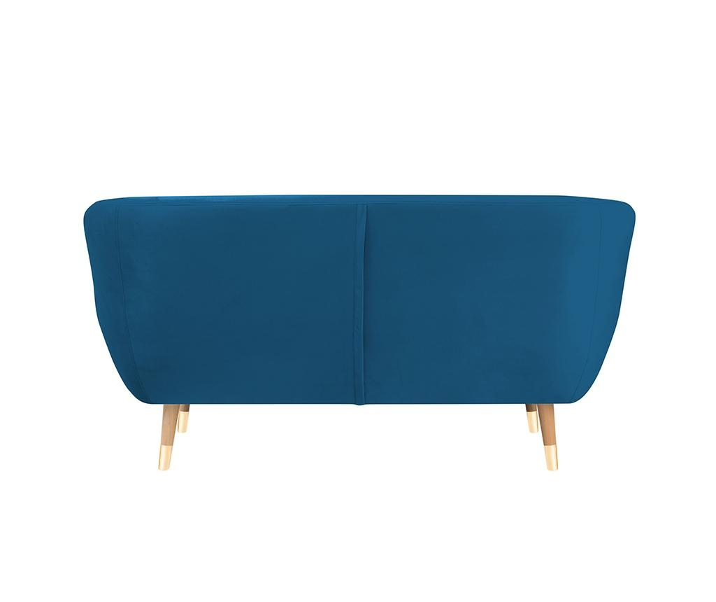Amelie Blue Natural Kétszemélyes kanapé
