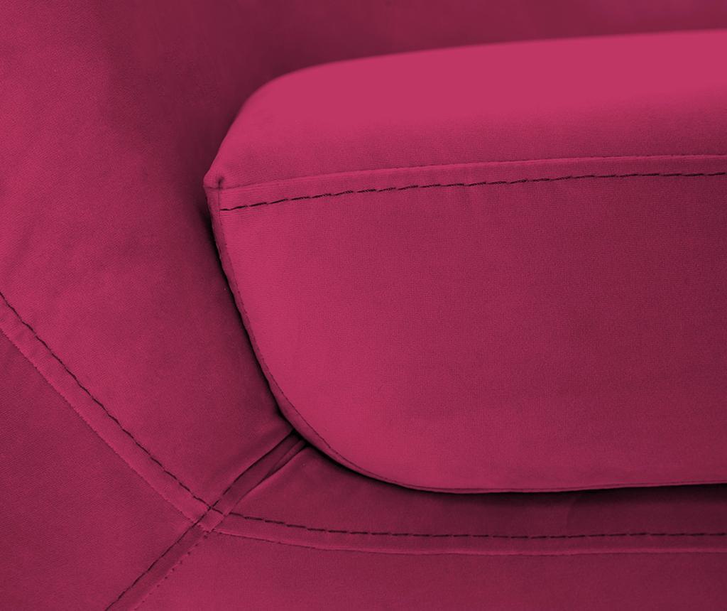 Třímístná pohovka Amelie Pink Natural