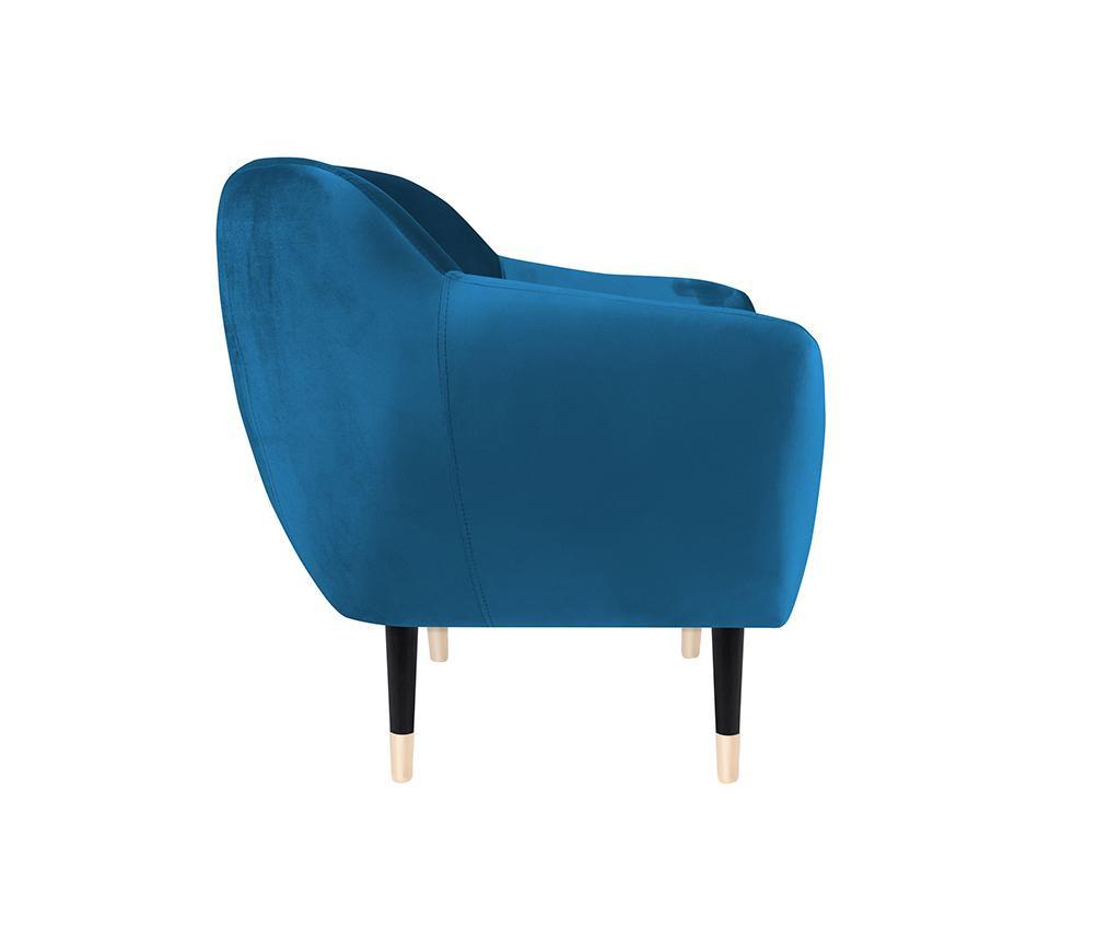 Fotelj Amelie Blue Black