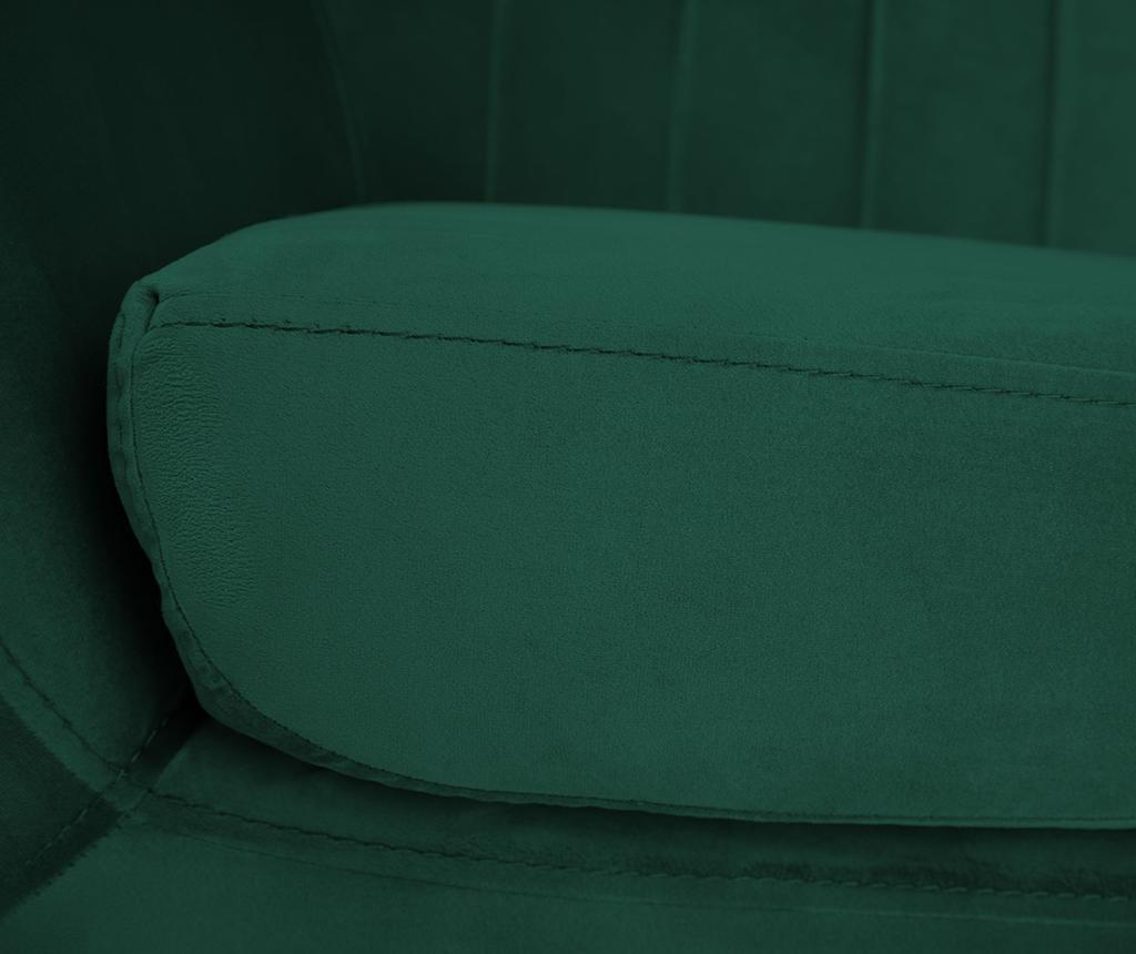 Benito Bottle Green Black Fotel