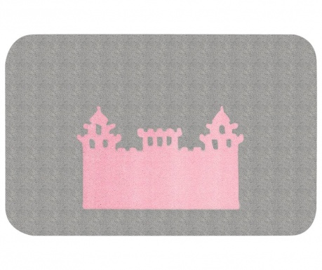 Preproga Kingdom Pax Grey Pink 67x120 cm