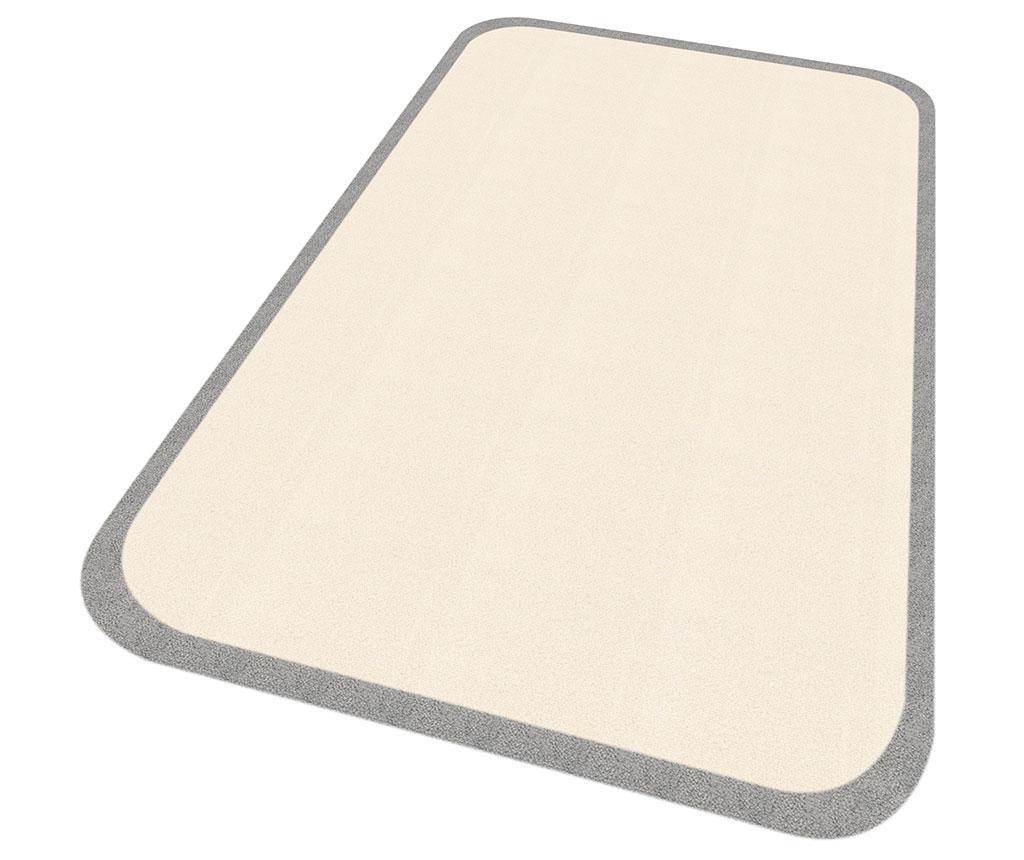 Linda Cream Grey Szőnyeg 67x120 cm