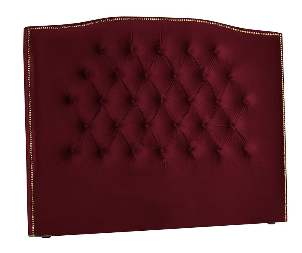 Tablie de pat Daisy Red Wine 180 cm