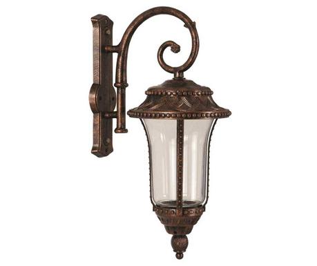 Zidna svjetiljka za vanjski prostor Romon Down Brown