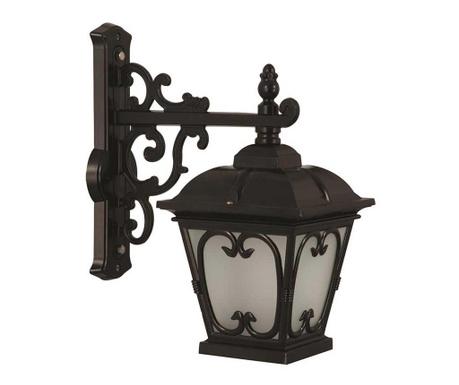 Zidna svjetiljka za vanjski prostor Duncan Down Black
