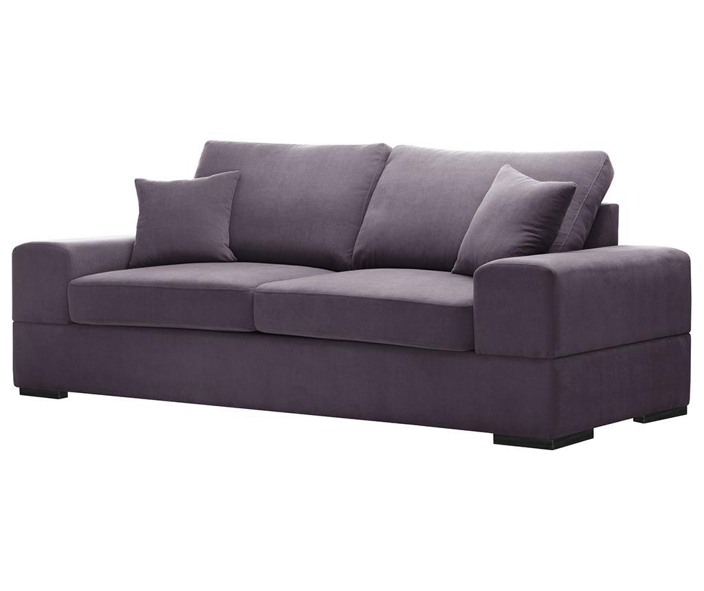 Dasha Lilac Háromszemélyes kihúzható kanapé