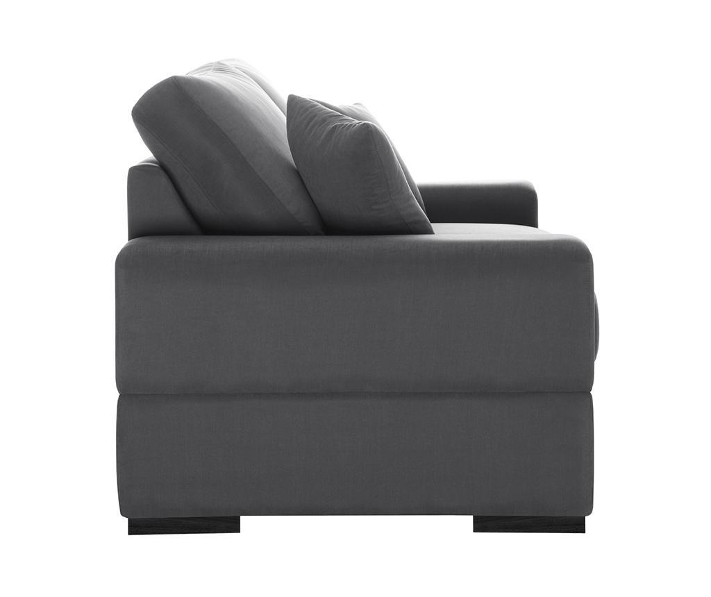 Dasha Grey Háromszemélyes kihúzható kanapé