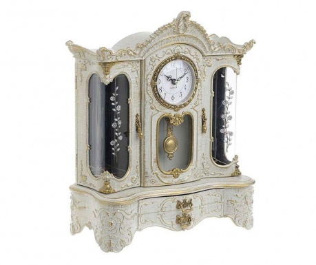 Hudební dekorace s hodinami Teigan