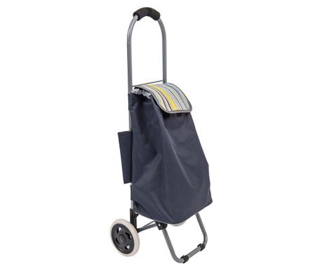 Nakupovalna torba s kolesi Zippy Stripe 35 L