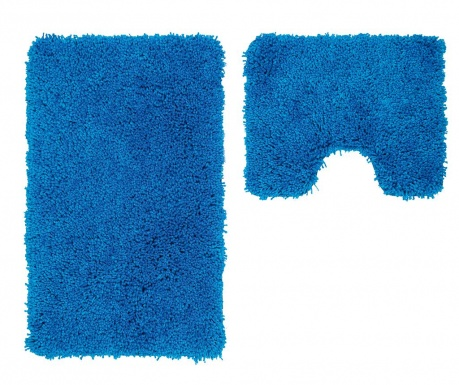 Set 2 kupaonska tepiha My Cosmopolitan Blue