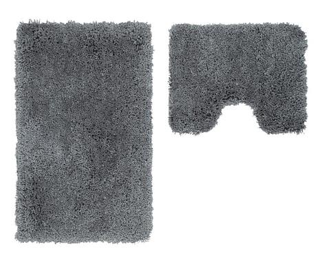 Zestaw 2 dywaników łazienkowych My Cosmopolitan Silver
