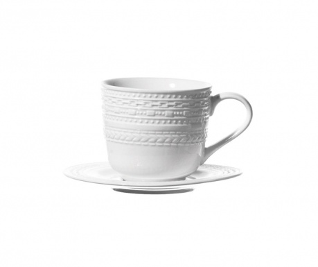 Set ceasca si farfurioara Casale Rim Coffee