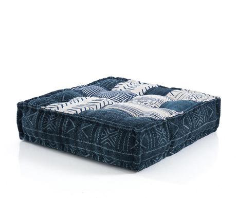 Poduszka podłogowa Yantra Blue Beige 80x80 cm