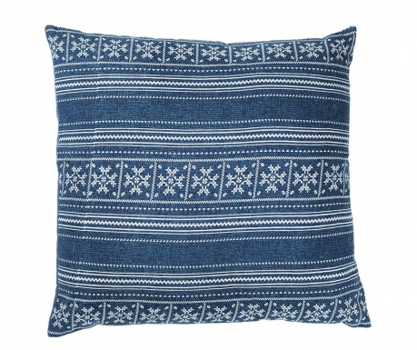 Perna decorativa Yantra Blue 52x52 cm
