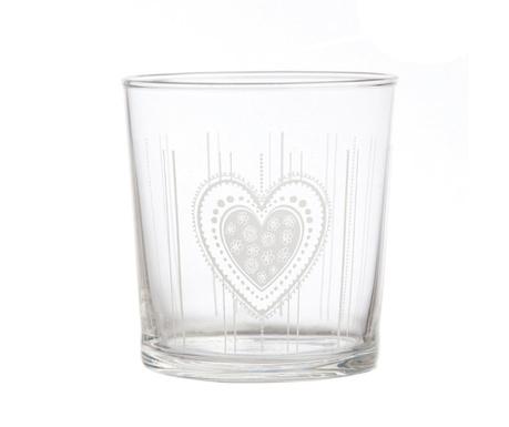 Babila Heart Pohár 350 ml