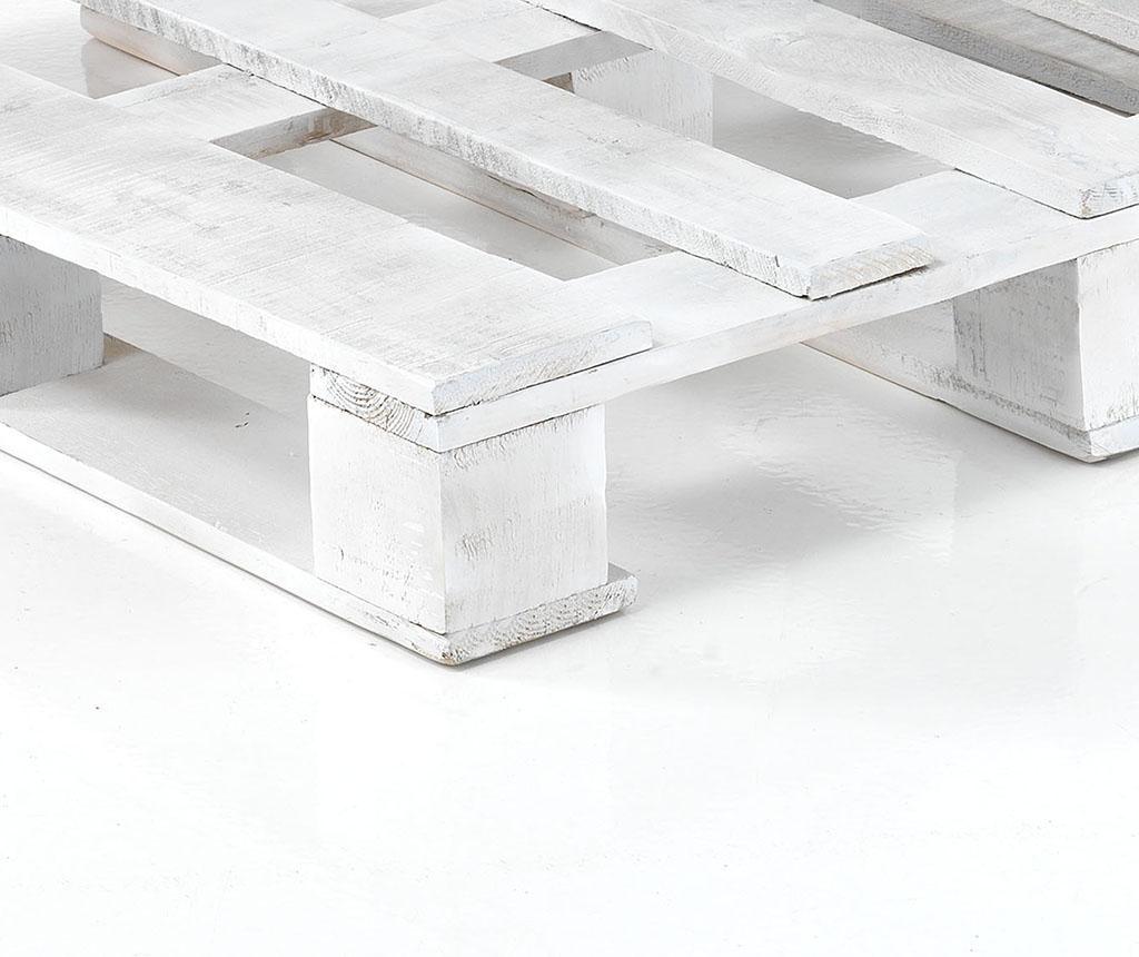 Yantra Light Grey White 2 db Babzsák és 2 db kanapé alap