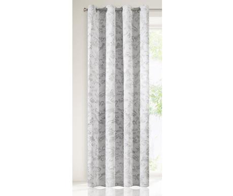 Závěs Joanna White Silver 140x250 cm