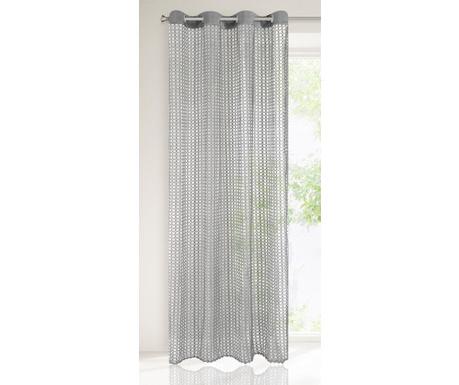 Perdea Agnes Steel 140x250 cm