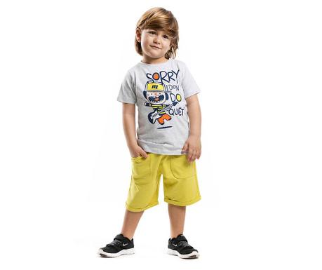 Set tricou si pantaloni scurti pentru copii Nois Jack