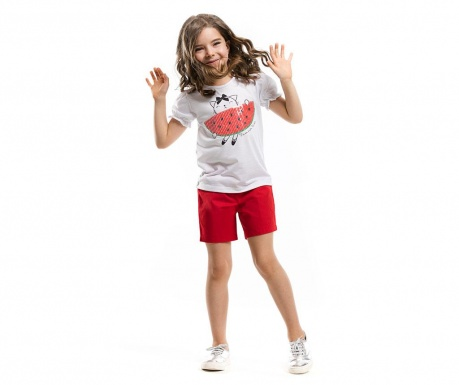 Set tricou si pantaloni scurti pentru copii Watermelon