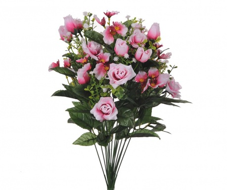 Buchet flori artificiale Rose and Orchids Pink