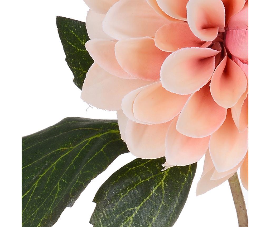 Set 6 flori artificiale Dahlia Romantique Peach
