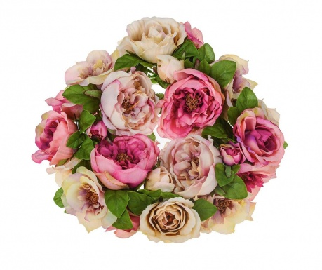 Buchet flori artificiale Roses Wreath