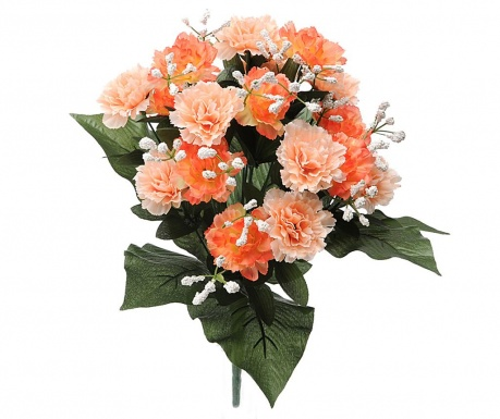 Buchet flori artificiale Carnation and Gypsophila Peach