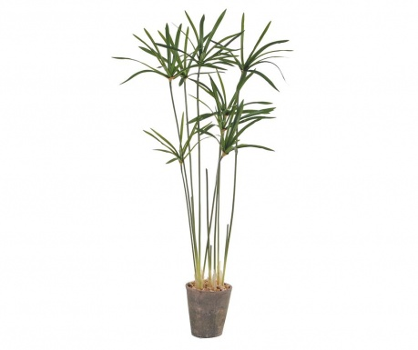 Planta artificiala in ghiveci Paper Reed in a Pot