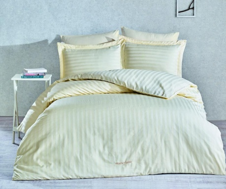 Lenjerie de pat Single Satin Vogue Cream