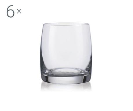 Bohemia Royal Ideal Crystalite 6 db Whiskys pohár 290 ml