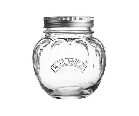 Steklenka s pokrovom Nerida Tomato 400 ml