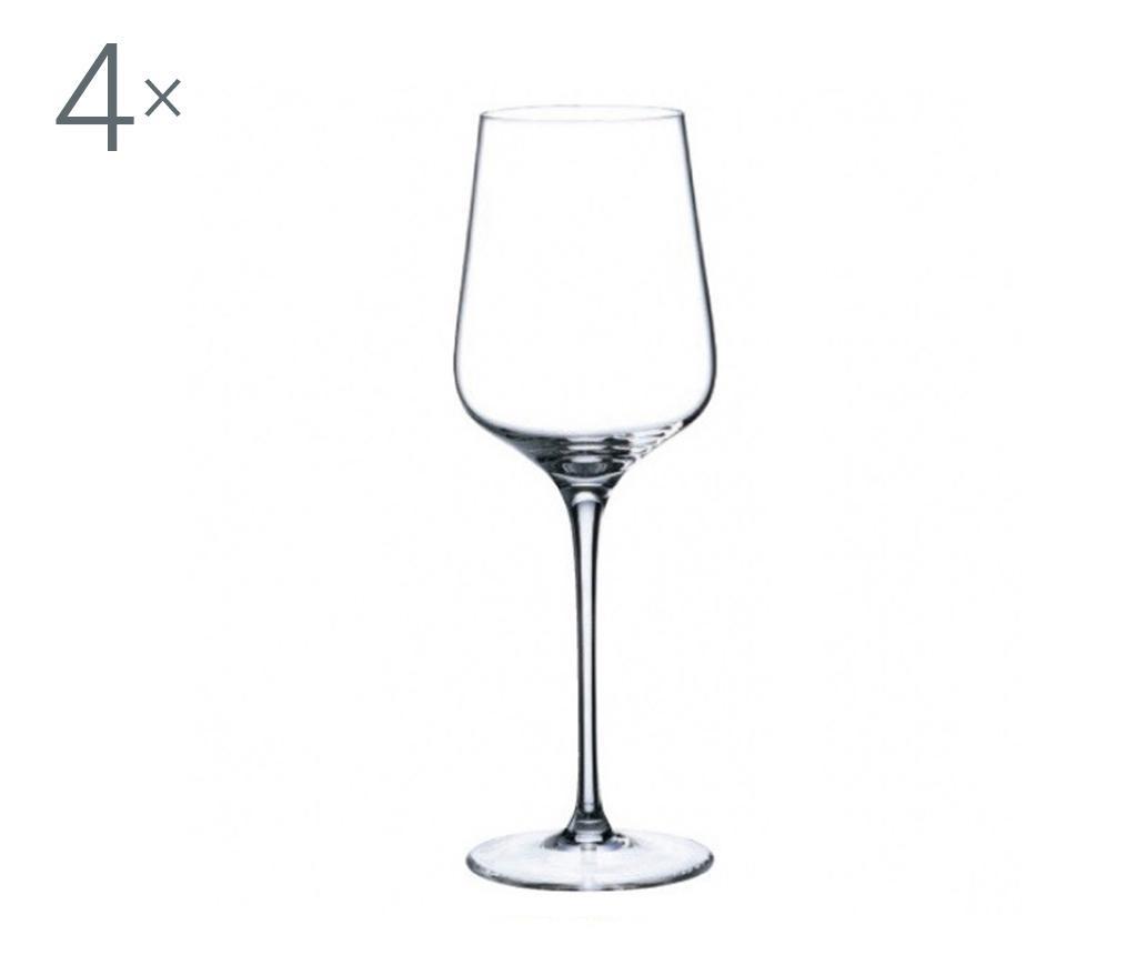 Set 4 pahare pentru vin Rona Charisma Crystalite 450 ml