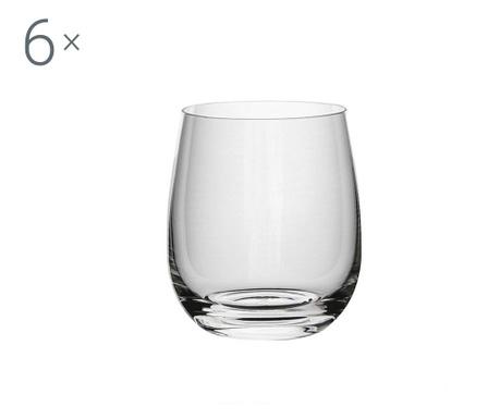 Set 6 pahare Rona Cool Crystalite 360 ml