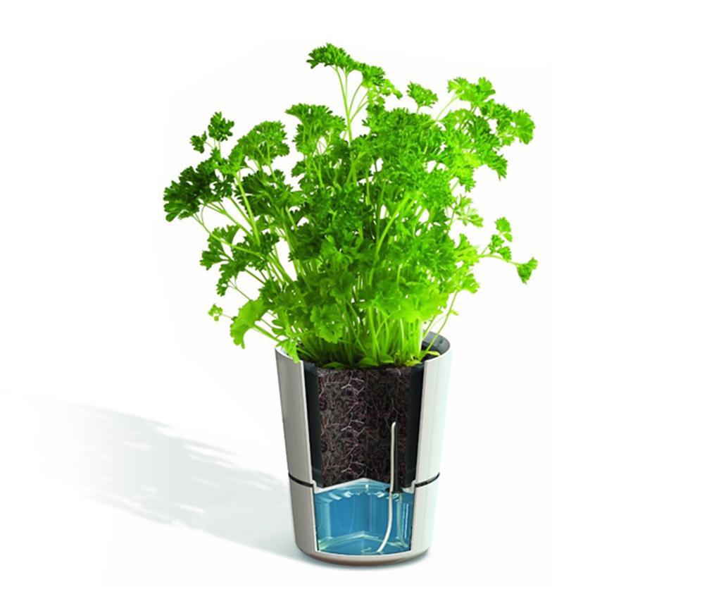 Hydro Herb Green 2 db Virágcserép önlocsoló rendszerrel