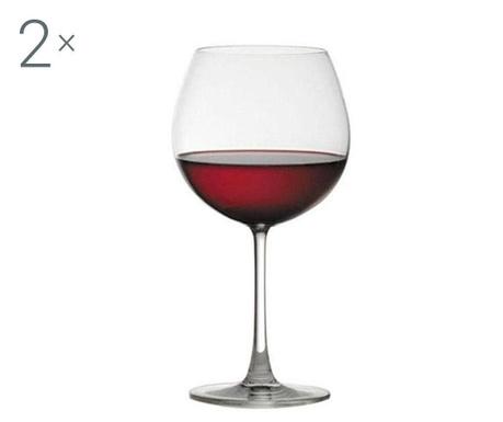 Set 2 pahare pentru vin Ocean Wine 600 ml