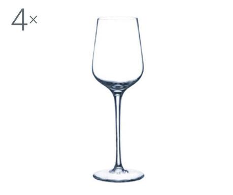 Set 4 pahare pentru vin Rona Crystalite 250 ml