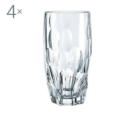 Set 4 pahare Nachtmann Sphere Crystalite 385 ml
